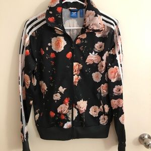 Adidas Rose Jersey Jacket 🌸